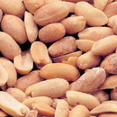 Azar Dry Roasted Peanut 2 Pound Bag - 3 Per Case