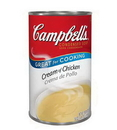 Campbell'S Classic Cream Of Chicken Condensed Shelf Stable Soup 50 Ounce Can - 12 Per Case