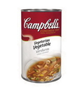 Campbell'S Classic Vegetarian Vegetable Alphabet Condensed Shelf Stable Soup 50 Ounce Can - 12 Per Case