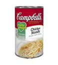 Campbell'S Classic Healthy Request Chicken Noodle Condensed Shelf Stable Soup 50 Ounce Can - 12 Per Case