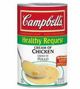 Campbell'S Classic Healthy Request Cream Of Chicken Condensed Shelf Stable Soup 50 Ounce Can - 12 Per Case