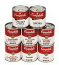 Campbell'S Classic Cream Of Mushroom Shelf Stable Soup 7.25 Ounce Can (Easy Open) - 24 Per Case