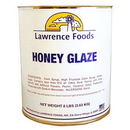 Lawrence Foods Honey Glaze #10 Can - 6 Per Case
