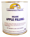 Lawrence Foods 122001 Deluxe Apple Filling 6/#10 Cans