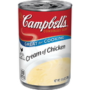 Campbell'S Condensed Soup Red & White Cream Of Chicken Soup 10.5 Ounce Can - 48 Per Case
