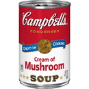 Campbell'S Condensed Soup Red & White Cream Of Mushroom Soup 10.5 Ounce Can - 48 Per Case