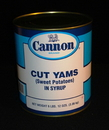 Cannon Extra Standard Cut Low Sodium Yams 108 Ounces - 6 Per Case