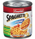 Campbell'S Spaghetti O'S Easy Open Pasta 7.5 Ounce Can - 24 Per Case
