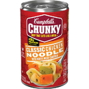 Campbell's 3885 Soup Chunky Classic Chicken Noodle 12-18.6 Ounce