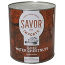 Savor Imports Sliced Water Chestnuts 105.8 Ounces - 6 Per Case