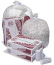High Density Mini-Rolls MR43483MC 43X48 16 Mic 56-Glutton Natural Star Perf Roll 200(8/25 Count - 56 Gallon Bag) No Print