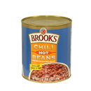 Birds Eye Brooks Hot Chili With Beans #10 Cans - 6 Per Case