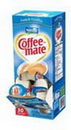 Coffee-Mate French Vanilla Single Serve Liquid Creamer .375 Ounces Per Cup - 50 Per Pack - 4 Packs Per Case