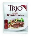 Trio 10050000385727 Trio Low Sodium Brown Gravy Mix 8 X 16 Ounces