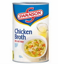 Swanson Clear Chicken Broth Broth 49.5 Ounce Can - 12 Per Case