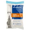 Basic American Foods Potato Pancake Mix 228 Pancakes (70G) Per Case Crispy Fresh-Shred Taste 6/24.27 Oz Pchs