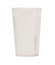 Colorware 5.2 Ounce Clear Plastic Tumbler Cup 24 Per Pack - 1 Per Case