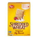 Post Shredded Wheat Big Biscuit Cereal 15 Ounces Per Box - 12 Per Case
