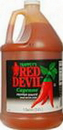 Sauce Red Devil Hot Original Plastic 4-1 Gallon