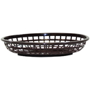 Tablecraft 1074BR Oval Brown Basket Hdpe 9.375X6