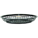 Tablecraft 1084BK Oval Jumbo Basket Black
