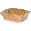 Tablecraft 9 Inch X 6 Inch X 2.5 Inch Rectangle Natural Basket 12 Per Pack - 1 Per Case