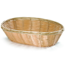Tablecraft 1174W Oval Nat Pp Basket 9X6X2.25
