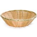 Tablecraft 1175W Round Nat Pp Basket 8.5X2.25