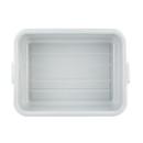 Tablecraft 7 Inch Gray Deep Dish Box 12 Per Pack - 1 Per Case