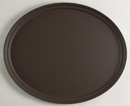 Camtread 22 Inch X 26.875 Oval Tan Serving Tray 1 Per Each