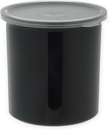 Carlisle Foodservice Products 034103 Crock Plastic With Lid Black 1.2 1-1 Count