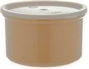 Carlisle Foodservice Products 034306 Crock Plastic With Lid Beige 1.5 1-1 Count