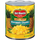 Del Monte Pineapple Chunks Packed In Juice 106 Ounces - 6 Per Case