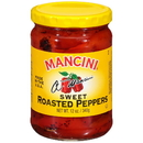 Mancini 05021 12/12 Oz Fire Roasted Red Peppers