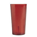 Colorware 12.6 Ounce Red Plastic Tumbler Cup 24 Per Pack - 1 Per Case