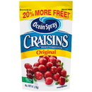 Ocean Spray Sweetened Dried Cranberry Original 6 Ounces - 12 Per Case