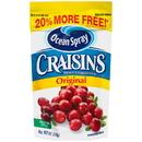 Ocean Spray Sweetened Dried Cranberry Original 6 Ounces - 12 Per Case