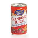 Ruby Kist Cranberry Cocktail Juice Aluminum Can 5.5 Fluid Ounces - 48 Per Case
