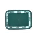 Tablecraft 11.75 Inch Grande Forest Green Basket 36 Per Pack - 1 Per Case