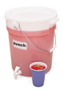 Cambro 6 Gallon White Beverage Dispenser 1 Per Pack - 1 Per Case