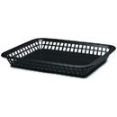 Tablecraft 1079BK Large Grande Basket Black