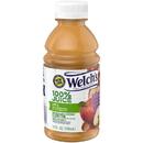 Welch'S 100% Apple Plastic Juice 10 Fluid Ounce Bottle - 24 Per Case