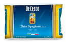 De Cecco No. 11 Thin Spaghetti 5 Pounds Per Bag - 4 Per Case