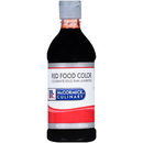 Mccormick Culinary Red Food Color 1 Pint Bottle - 6 Per Case