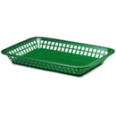 Tablecraft 1079FG Large Grande Basket Forest Green