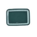 Tablecraft 11.75 Inch Large Grande Forest Green Basket 36 Per Pack - 1 Per Case