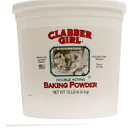 Clabber Girl Double Acting Baking Powder 10 Pounds - 4 Per Case
