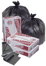Pitt Plastics MR36604MK 36X60 22 Mic 55 Gallons Black Star Perf Roll 150(10/15 Count - 55 Gallon Bag)