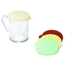 Tablecraft Dredge Shaker Set Assorted Lids 1 Per Pack