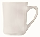 Porcelana 8.5 Ounce Bright White Kona Mug 36 Per Pack - 1 Per Case